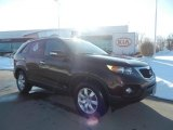 2011 Dark Cherry Kia Sorento LX AWD #75226896
