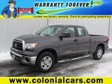 2011 Magnetic Gray Metallic Toyota Tundra Double Cab 4x4 #75227156