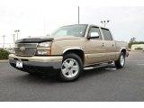 2007 Sandstone Metallic Chevrolet Silverado 1500 Classic LS Crew Cab #75226869
