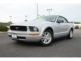 2007 Satin Silver Metallic Ford Mustang V6 Deluxe Convertible #75226864