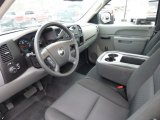 2010 Chevrolet Silverado 1500 Regular Cab Dark Titanium Interior