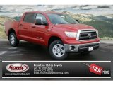 2013 Barcelona Red Metallic Toyota Tundra CrewMax 4x4 #75226305