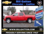 2013 Victory Red Chevrolet Silverado 1500 LT Crew Cab 4x4 #75227108