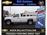 2013 Summit White Chevrolet Silverado 1500 Work Truck Regular Cab #75227104