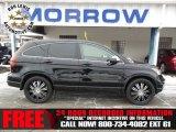 2011 Crystal Black Pearl Honda CR-V LX 4WD #75226544
