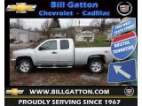 2013 Silver Ice Metallic Chevrolet Silverado 1500 LT Extended Cab 4x4 #75227096