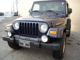 2006 Midnight Blue Pearl Jeep Wrangler Sport 4x4 Golden Eagle #75226432