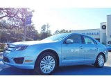 2010 Light Ice Blue Metallic Ford Fusion Hybrid #75226538