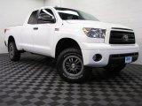 2010 Super White Toyota Tundra TRD Rock Warrior Double Cab 4x4 #75226837