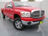 2007 Flame Red Dodge Ram 1500 SLT Mega Cab 4x4 #75226718