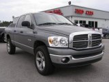 2008 Mineral Gray Metallic Dodge Ram 1500 Big Horn Edition Quad Cab 4x4 #7482036