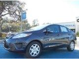 2013 Violet Gray Ford Fiesta SE Sedan #75226535