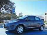 2013 Violet Gray Ford Fiesta S Sedan #75226533