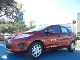 2013 Ruby Red Ford Fiesta SE Sedan #75226531
