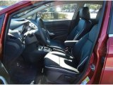 2013 Ford Fiesta Titanium Sedan Charcoal Black Interior