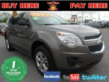 2010 Cyber Gray Metallic Chevrolet Equinox LS #75226952