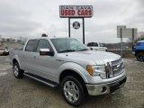 2010 Ingot Silver Metallic Ford F150 Lariat SuperCrew 4x4 #75226940
