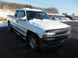 2002 Summit White Chevrolet Silverado 1500 LS Extended Cab 4x4 #75226682
