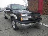 2004 Black Chevrolet Silverado 1500 Z71 Extended Cab 4x4 #75288541