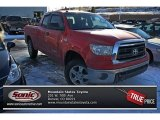 2010 Radiant Red Toyota Tundra SR5 Double Cab 4x4 #75288231