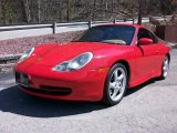 1999 Guards Red Porsche 911 Carrera 4 Coupe #7506596