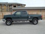 2003 Dark Green Metallic Chevrolet Silverado 1500 LS Extended Cab 4x4 #75307960