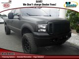 2004 Black Ford F250 Super Duty Lariat Crew Cab 4x4 #75307998