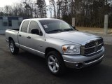 2008 Dodge Ram 1500 Big Horn Edition Quad Cab Front 3/4 View