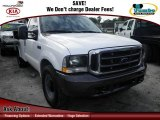 2004 Oxford White Ford F250 Super Duty XL Regular Cab Utility Truck #75312890
