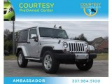 2011 Bright Silver Metallic Jeep Wrangler Sahara 4x4 #75312852