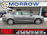 2013 Sterling Gray Metallic Ford Fusion SE #75312634