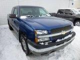 2004 Arrival Blue Metallic Chevrolet Silverado 1500 Z71 Extended Cab 4x4 #75336833