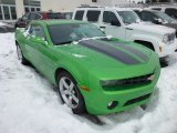 2010 Synergy Green Metallic Chevrolet Camaro LT Coupe Synergy Special Edition #75336831