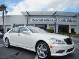 2013 Diamond White Metallic Mercedes-Benz S 550 Sedan #75336584