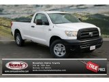 2013 Super White Toyota Tundra Regular Cab 4x4 #75336519
