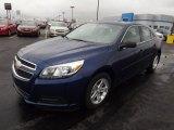 2013 Blue Topaz Metallic Chevrolet Malibu LS #75336702