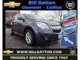 2013 Atlantis Blue Metallic Chevrolet Equinox LS #75336759