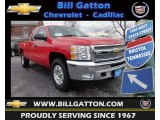 2013 Victory Red Chevrolet Silverado 1500 LT Extended Cab 4x4 #75336757
