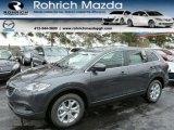 2013 Meteor Gray Mica Mazda CX-9 Sport AWD #75336624