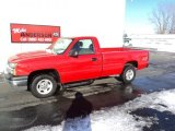 2004 Victory Red Chevrolet Silverado 1500 Regular Cab 4x4 #75357546