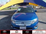 2011 Blue Flame Metallic Ford Fusion SEL V6 #75357111