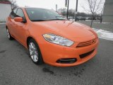 2013 Header Orange Dodge Dart SXT #75357536