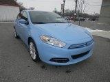 2013 Laguna Blue Dodge Dart SXT #75357535