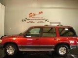 1997 Toreador Red Metallic Ford Explorer XLT 4x4 #7482114