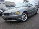 2004 Silver Grey Metallic BMW 3 Series 325i Convertible #75357076