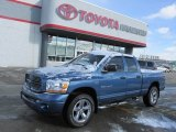 2006 Atlantic Blue Pearl Dodge Ram 1500 Sport Quad Cab 4x4 #75357167