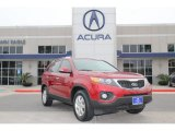 2011 Spicy Red Kia Sorento LX #75357070