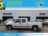 1999 Summit White Chevrolet Silverado 1500 LS Extended Cab #75357496