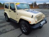 2011 Jeep Wrangler Mojave 4x4 Front 3/4 View