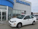 2003 Cloud 9 White Ford Focus SE Sedan #75357159